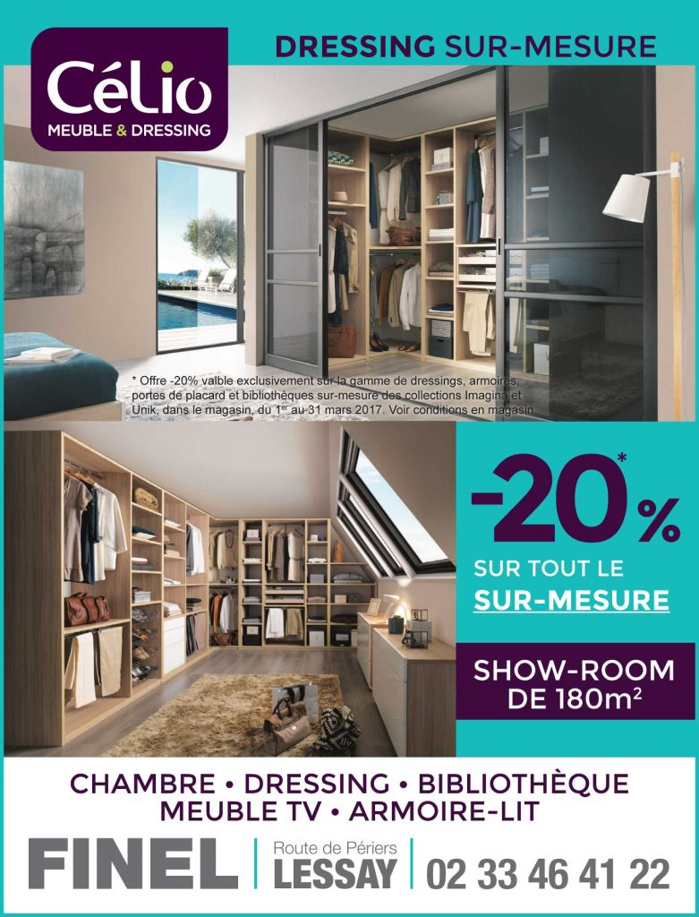 op ration gain de place avec c lio meubles finel lessay 50. Black Bedroom Furniture Sets. Home Design Ideas