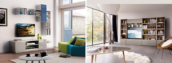 l 39 actu c lio le meuble tv meubles finel lessay 50. Black Bedroom Furniture Sets. Home Design Ideas