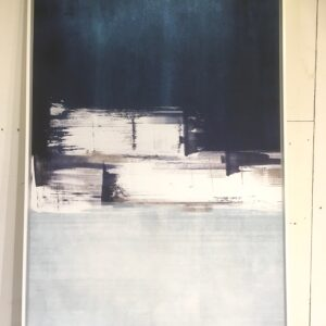 Toile Bleu/Blanc