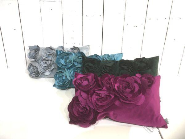 Coussin Floral - Toutes les couleurs