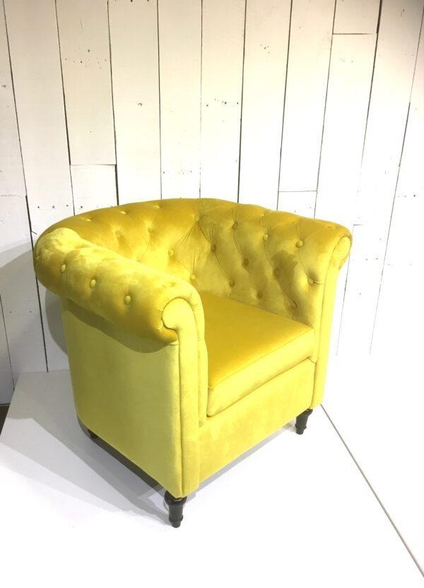 Fauteuil Le Chesterfield