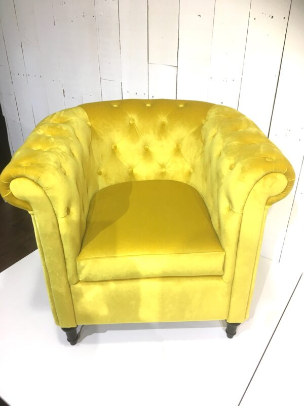 Fauteuil Le Chesterfield Zoom 2